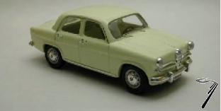 Alfa Romeo . Jaune 1/43