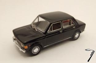 Fiat . 4 portes gris 1/43