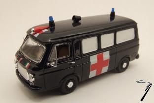 Fiat . Ambulance carabinieri 1/43