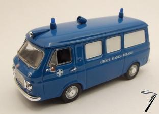 Fiat . Croix Blanche Milan 1/43