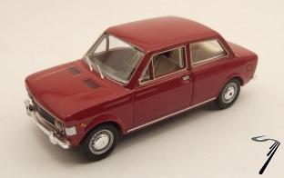 Fiat . 2 Portes Rouge Sport 1/43