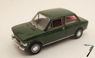 Fiat . 2 Portes Vert 1/43