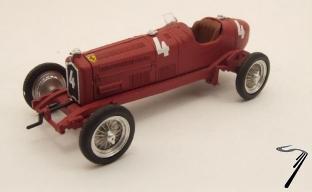 Alfa Romeo P3 Tipo B #4 Monza  1/43