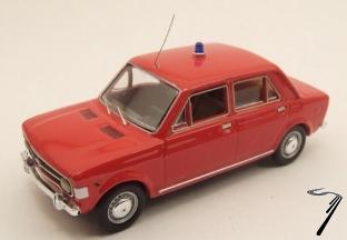 Fiat . Voiture de Pompier 1/43