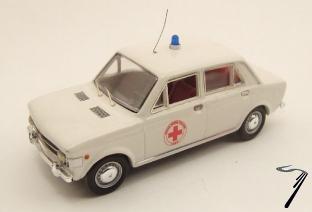 Fiat . Croix Rouge 1/43