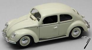Volkswagen . Deluxe Ivoire 1/43