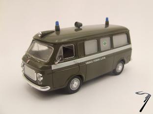 Fiat . Ambulance Milan 1/43