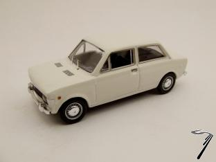 Fiat . 2 Portes Blanc 1/43