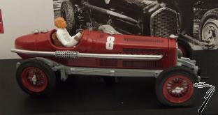 Alfa Romeo P3 GP d'Italie Mussolini Test  1/43