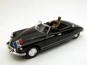 Citroen . cabriolet Générale De Gaulle 1/43