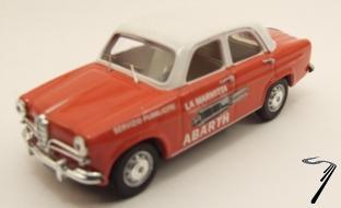 Alfa Romeo . Abarth 1/43