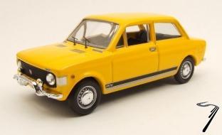 Fiat . Rallye Jaune 1/43