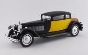 Bugatti 41 Royale Weymann noir/jaune Royale Weymann noir/jaune 1/43
