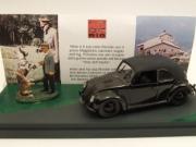 Volkswagen . Avec figurine Hitler 1/43