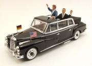 Mercedes . L Adenauer + Kennedy 1/43