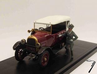 Fiat . Fiume + Gabriele D'Annunzio 1/43