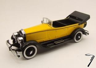 Isotta . Franschini 8A spider jaune 1/43