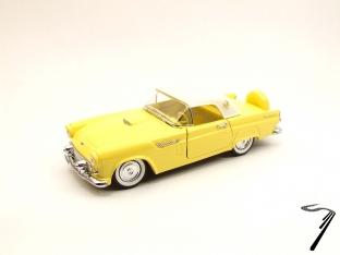 Ford . Hard top jaune 1/43