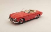 Mercedes . SL red 1/43