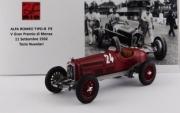 Alfa Romeo P3  1er GP Monza  1/43