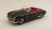 Mercedes . SL noire 1/43