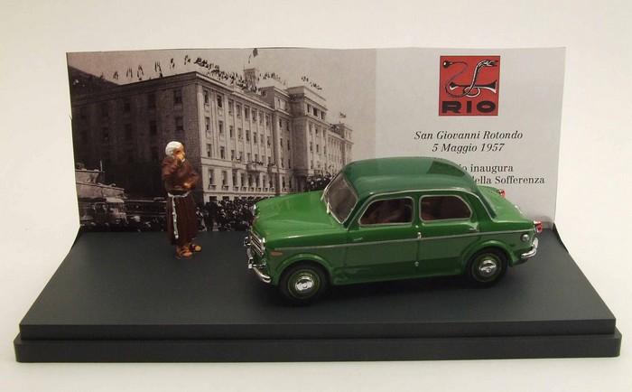 Fiat 1100 TV 5 mai 1956 Padre PIO 1956 1/43 Rio