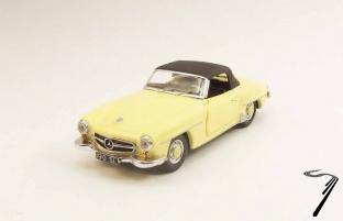 Mercedes . SL jaune 1/43
