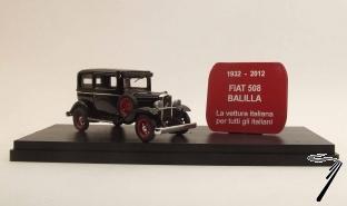 Fiat . Balilla 80ème anniversaire 1932/2012 - limité à 298 pièces 1/43