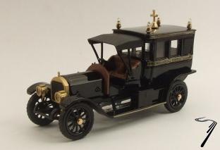 Mercedes . Limousine funéraire 1/43