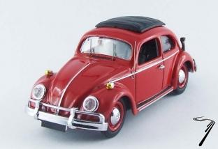 Volkswagen . Amphibie Brésil rouge 1/43