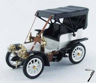 Fiat . 16/24 HP blanc/noir 1/43