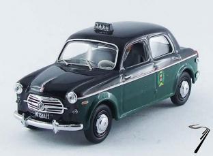 Fiat . Taxi Milan 1/43