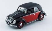 Volkswagen . noir/rouge 1/43