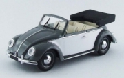 Volkswagen . convertible grey 1/43