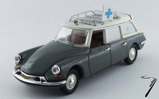 Citroen . 19 Ambulance gris 1/43