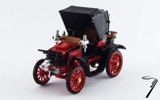 Fiat . rouge 1/43