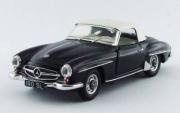 Mercedes . SL noir 1/43