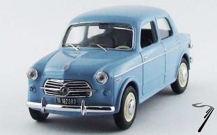Fiat . 103 E bleu clair 1/43