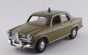 Alfa Romeo . Police - musée de Rome 1/43