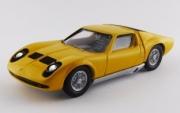 Lamborghini Miura P400 Bertone jaune P400 Bertone jaune 1/43