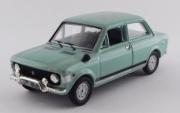 Fiat . Rally bleu 1/43