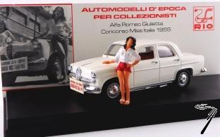 Alfa Romeo . Concours Miss Italie 1/43