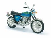 Honda 750 K bleu  1/12