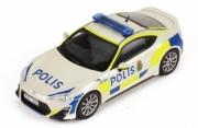 Toyota . 86 Police Suède 1/43
