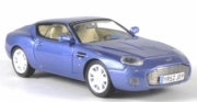 Aston Martin . Zagato bleu métallisé  1/43