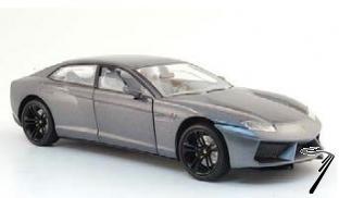 Lamborghini Estoque gris métallisé gris métallisé 1/43