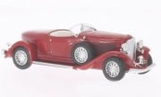 Auburn . Boat Tail roadster red 1/43