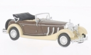 Mercedes . SS convertible beige/brown 1/43