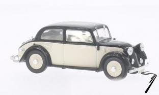 Mercedes . W23 beige/noir 1/43