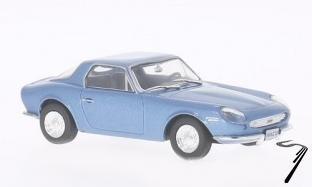 DKW . GT Malzoni bleu métallisé 1/43